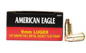 American Eagle 9mm 147 Grain FMJ Flat Point