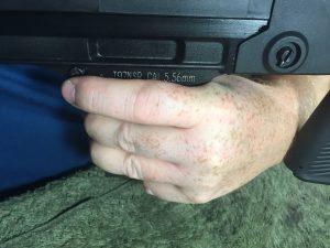 Norinco Type 97 Magazine Release Left Hand