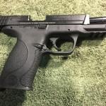 Smith & Wesson M&P 9mm Range Kit Slide Open