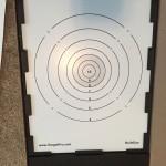 iTarget Pro Bullseye Target